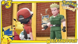 Pokémon: Let's Go, Pikachu! - Vermilion City to Lavender Town! | Walkthrough Part #3 Live