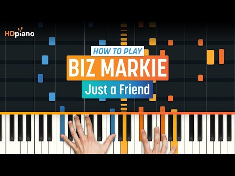 """ALL PARTS FREE –How To Play """"Just a Friend"""" by Biz Markie 