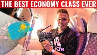 KAZAKHSTAN's AIR ASTANA 767 - The World's BEST Economy Class?