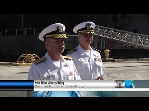 All Hands Update: USS Vinson visits Guam