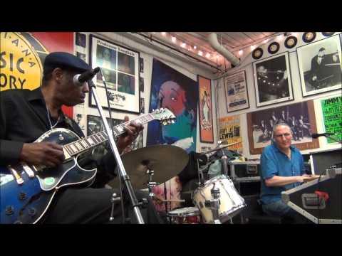 Joe Krown - Walter Wolfman Washington - Russell Batiste Jr. @ Louisiana Music Factory JazzFest 2013