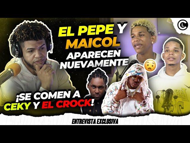 """EL PEPE Y MAICOL LLENOS DE ODIO Y QUEMAN FEO A CEKY VICINY Y EL CROK """"EL PEPE NO QUIERE CALLARSE"""""""
