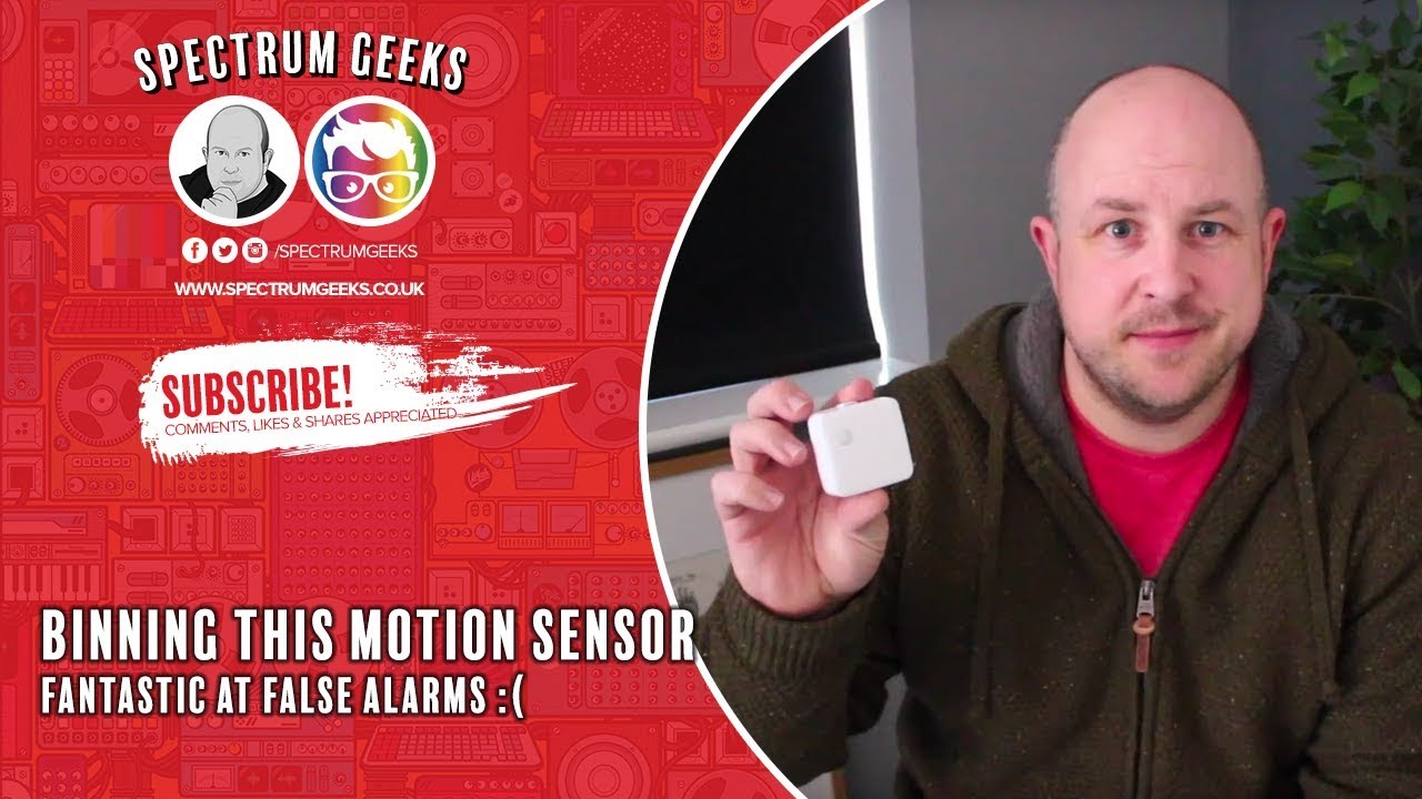 Ditching the Smart Things Motion Sensor