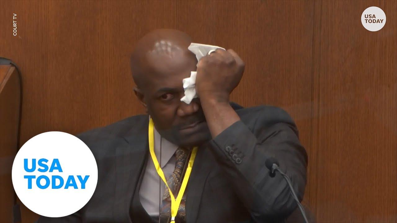 George Floyd's brother Philonise testifies
