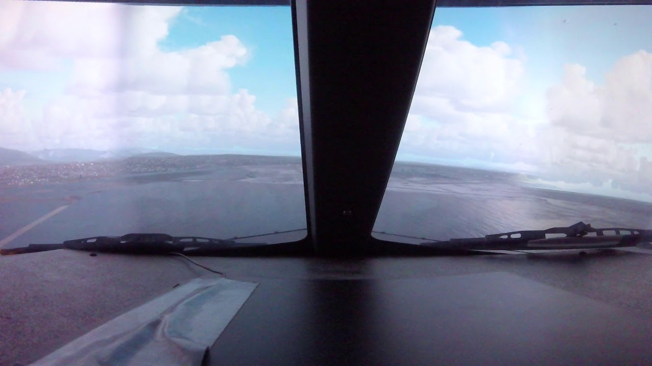 atterrissage en simulateur de boeing 737ng vancouver hd youtube. Black Bedroom Furniture Sets. Home Design Ideas