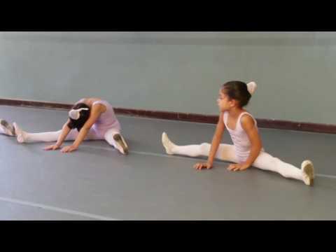 Aula de balé Natália