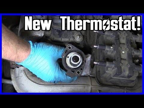 How to Replace Thermostat Dodge Caravan 3.3L V6 2001-2010 EASY!