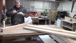 "King Size Platform Bed ""the Headboard"" Part 3"