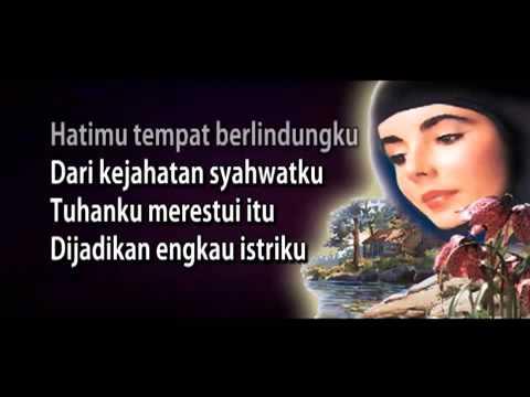 BIDADARI SURGA   Ustad Jefri Al Buchori  dengan lirik