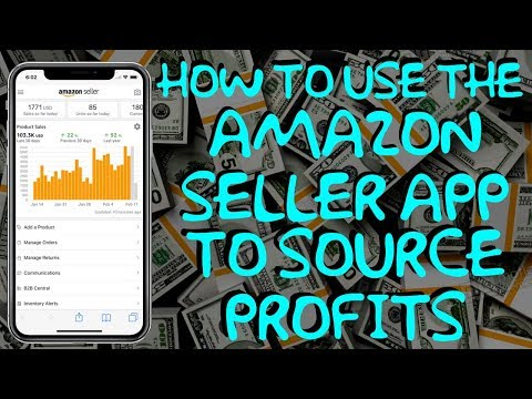 How To Use The Amazon Seller App To Source Products - Amazon FBA Tutorial