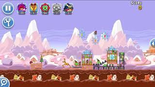 Angry Birds Friends 21st Dec 2017 Level 6 SANTACOAL & CANDYCLAUS TOURNAMENT.