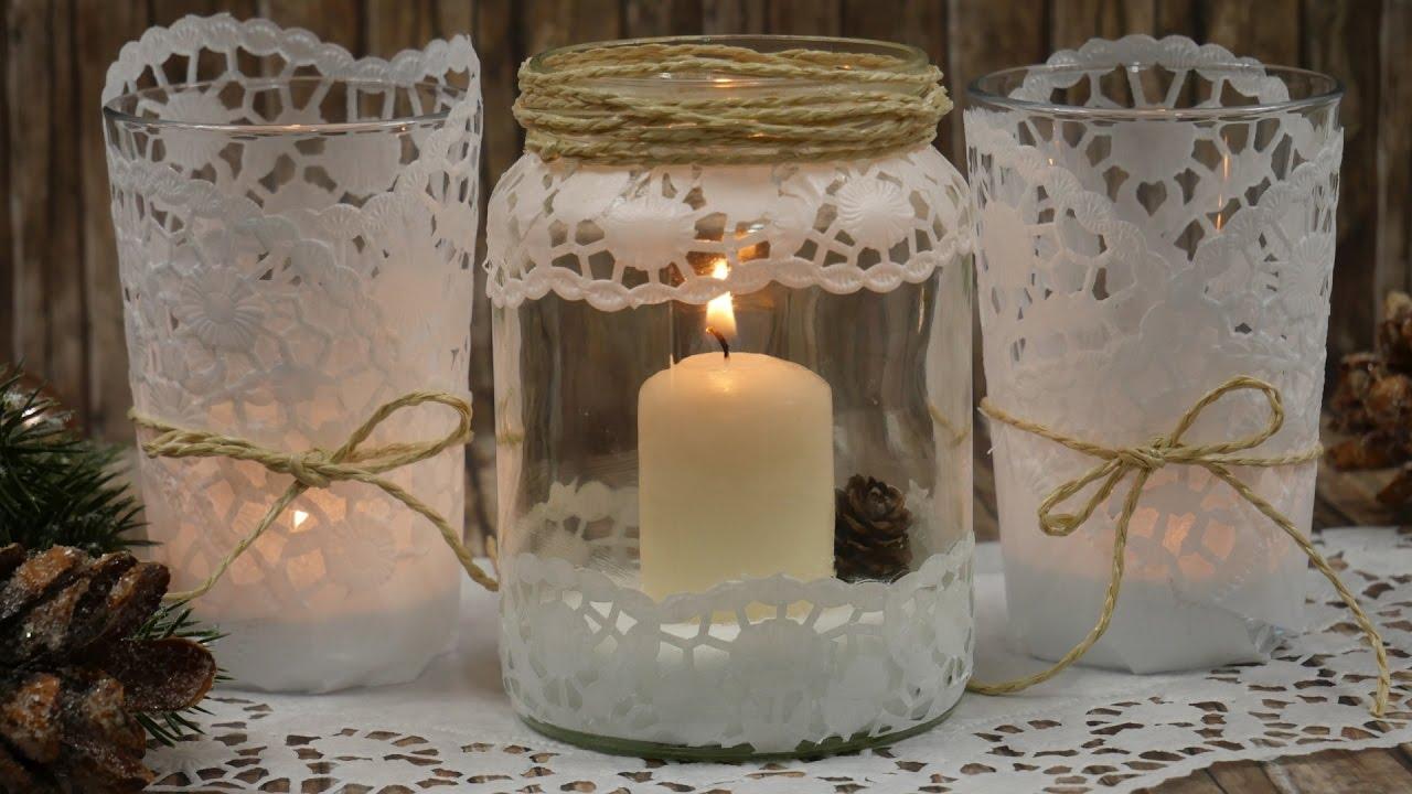 Einmachglaser Dekorieren Vintage Weckglaser Deko Weihnachten