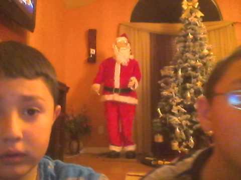 mikey and niki and santa