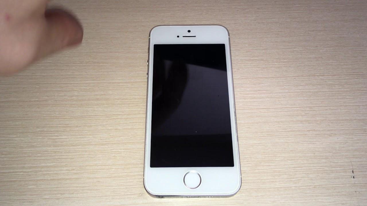 iphone 5s touch id не работает