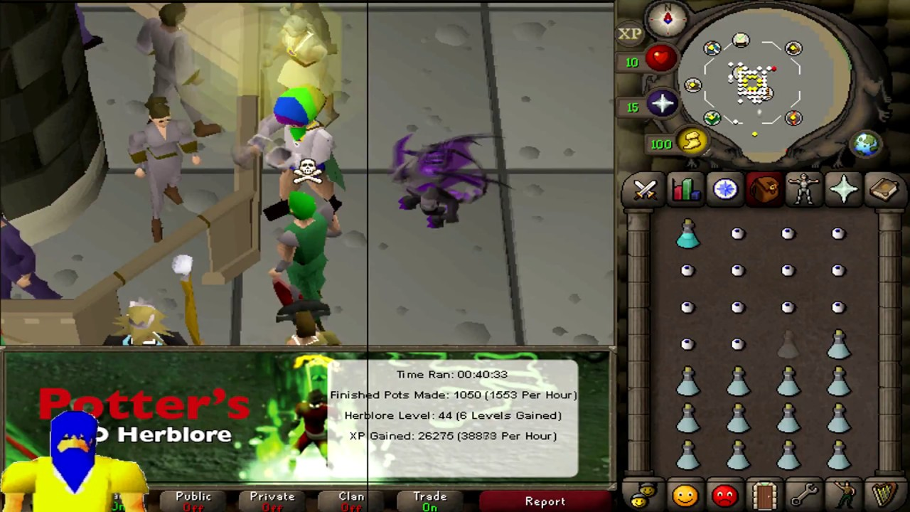 [OSRS] Botting to max stats S02E08