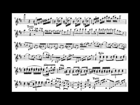 Mozart, Wolfgang A. mvt1 7th violin concerto KV 271a