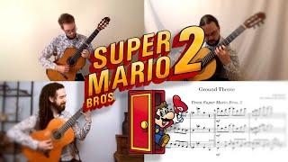 Super Mario Bros 2 Guitar Cover: Ground Theme (Ottawa Guitar Trio)