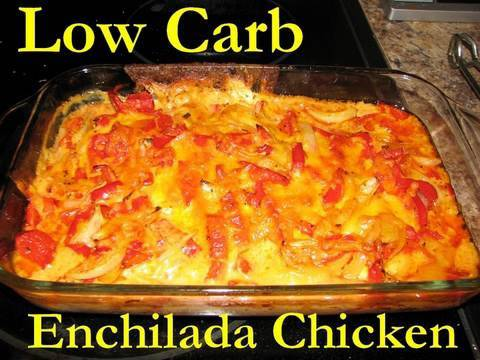 Atkins Diet Recipes:  Low Carb Enchilada Chicken Paillard (IF)