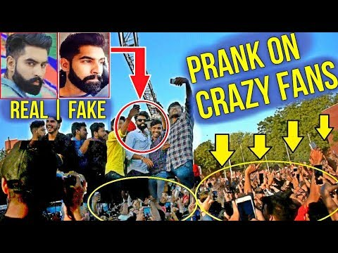Fake Celebrity Prank | PARMISH VERMA | LIVE ON STAGE