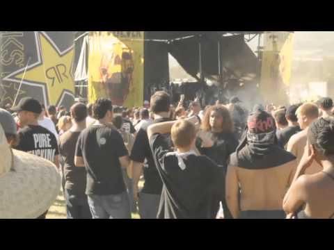 mosh pit ghost?? Suicide Silence set - July 9, 2011 Rockstar Mayhem Festival