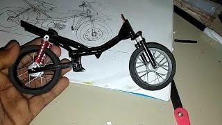 Cara membuat rangka( frame ) miniatur motor drag ( frame miniature motor tutorial)