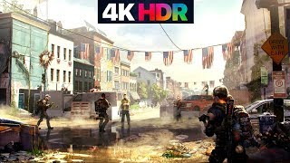 The Division 2 Gameplay 4K-HDR MAX GRAPHICS PC