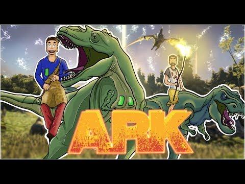 ARK the Island #12 - Le gros aigle dans la montagne