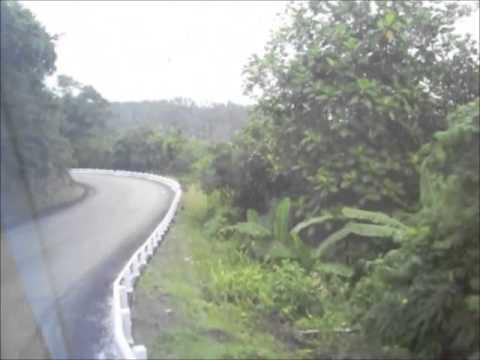 A Baracoa por la carretera Central y el viaducto de la Farola