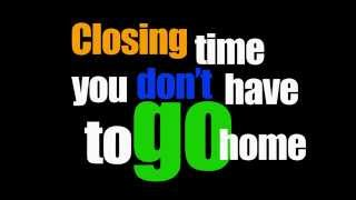 E.T.A - Closing Time (Semisonic Remix) (Offical Lyric Video)