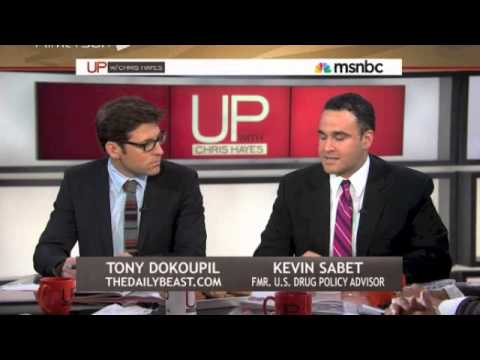 Kevin Sabet Appears on UP with Chris Hayes - Part 1 of 4