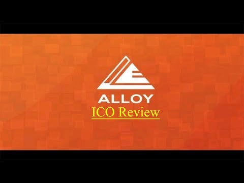 Alloy Ico Review - Real World Rewards for Virtual Currencies!