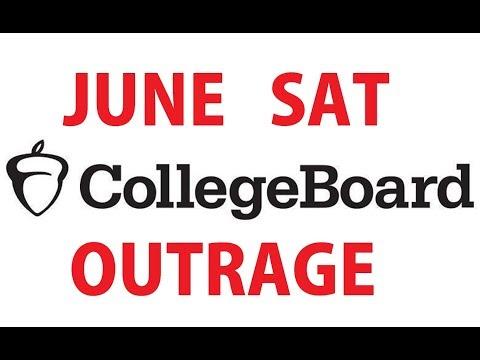 What Happened on June SAT | College Board SAT