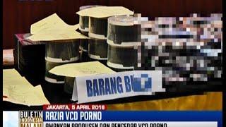 Polda Metro Jaya tangkap produsen dan pengedar VCD porno yang tersebar di Jakarta - BIM 05/04