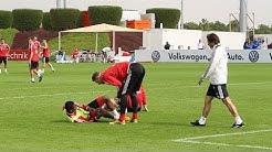 FC Bayern: Entwarnung nach erstem Schock - David Alaba erleidet Knieprellung
