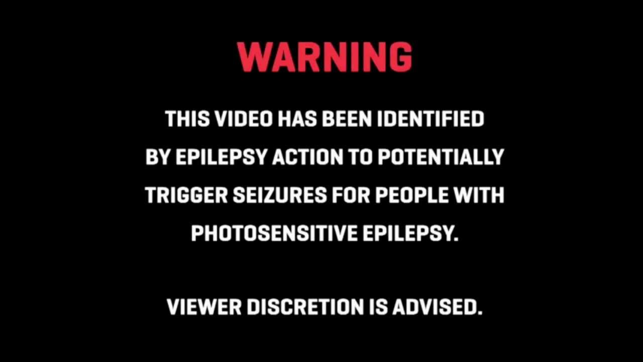 epilepsy warning on video games
