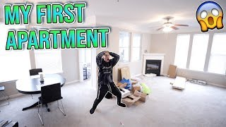 MOVING INTO MY FIRST APARTMENT!!