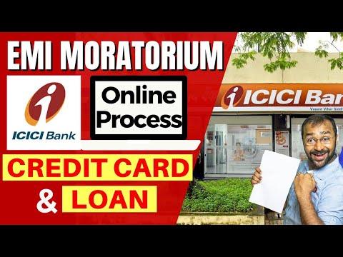 🔴ICICI EMI Moratorium   Credit Card & Loan   Tutorial Hindi