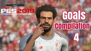 Pes 2019 - Goals -Skills & Goalkeeper Saves- Compilation #4- PS4 - HD