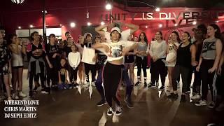 CHRIS MARTIN - WEEKEND LOVE (BEST DANCE VIDEO)