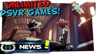 Unlimited PSVR Games! Rangi PSVR! PSVR News! Funny PSN Mistake!