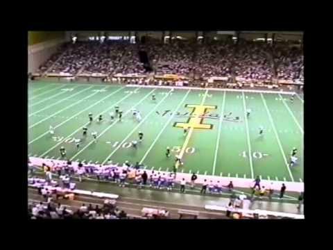 University of Idaho Football highlights 1995