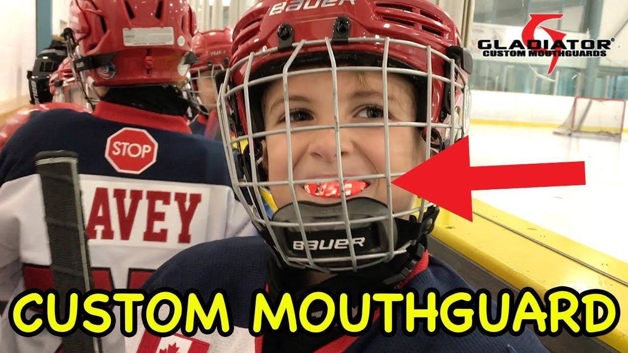 3e730859b39 Kids HocKey -- Worlds Greatest Sports MouthGuard Gladiator Custom ...