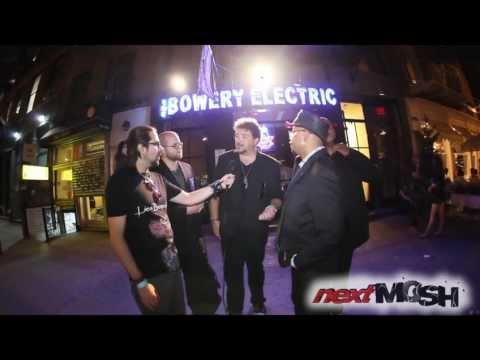 The Ex Senators interview in NYC - The Bowery Electric - 8/22/12