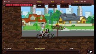 Trò chơi Tom và Jerry đua xe đạp | Giúp Top chiến thắng nào các bạn