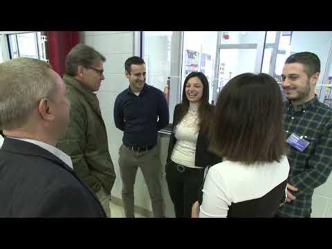 Secretary of Energy Rick Perry Visits Fermilab