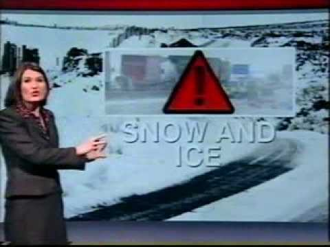 BBC Weather 2nd December 2010: 38cm of snow at Sheffield; a minimum of -20.9°C at Altnaharra