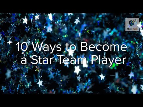10 Ways to Become a Star Team Player