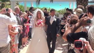 Emma & Joseph married at the Nissi Beach hotel Agia Napa.  watch in HD for best quality.
