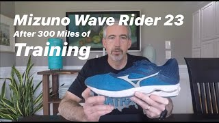 Mizuno Wave Rider 23 Review || After 300 Miles