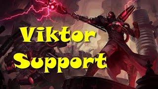 League of Legends - Viktor Support - Full Game Commentary